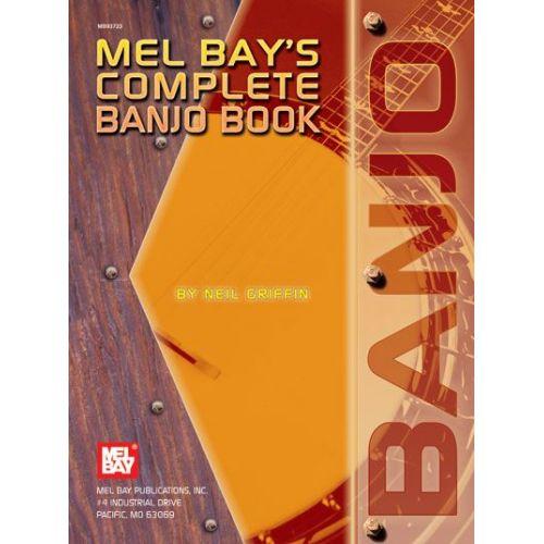 MEL BAY COMPLETE BANJO BOOK - BANJO