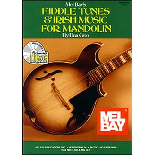 MEL BAY GELO DAN - FIDDLE TUNES AND IRISH MUSIC FOR MANDOLIN + CD - MANDOLIN