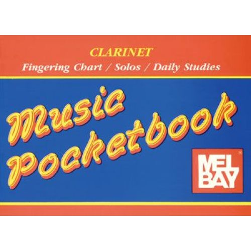 MEL BAY BAY WILLIAM - CLARINET POCKETBOOK - CLARINET