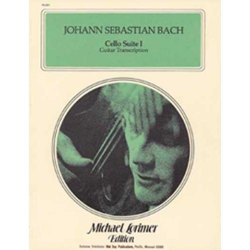 MEL BAY SEBASTIAN BACH JOHANN - CELLO SUITE 1 (LORIMER) - GUITAR