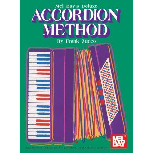 MEL BAY ZUCCO FRANK - DELUXE ACCORDION METHOD - ACCORDION