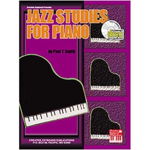 MEL BAY SMITH PAUL T. - JAZZ STUDIES FOR PIANO + CD - PIANO