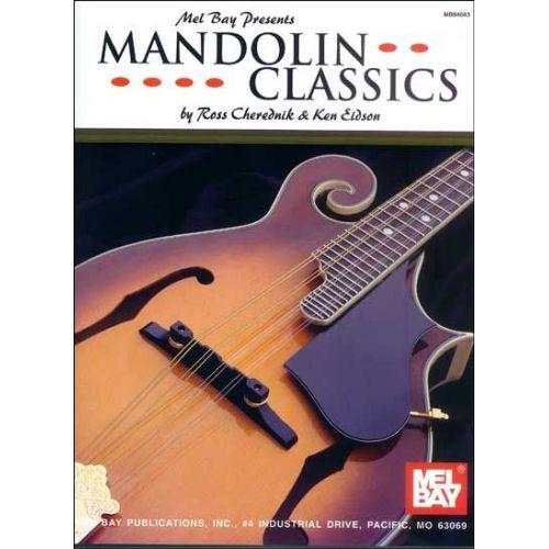 MEL BAY CHEREDNIK ROSS - MANDOLIN CLASSICS - MANDOLIN