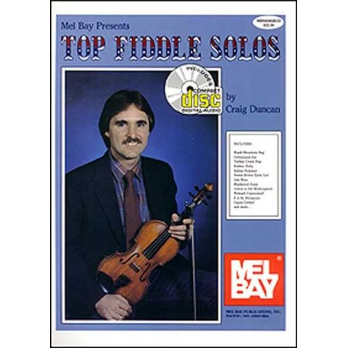 MEL BAY DUNCAN CRAIG - TOP FIDDLE SOLOS + CD - FIDDLE