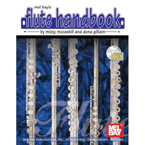 MEL BAY MCCASKILL MIZZY - FLUTE HANDBOOK + CD - FLUTE
