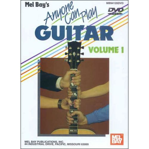 MEL BAY JURAN VERN - ANYONE CAN PLAY GUITAR VOLUME 1 - GUITAR