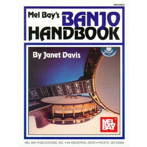 MEL BAY DAVIS JANET - BANJO HANDBOOK + CD - BANJO