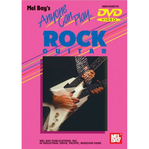 MEL BAY JURAN VERN - ANYONE CAN PLAY ROCK GUITAR - GUITAR