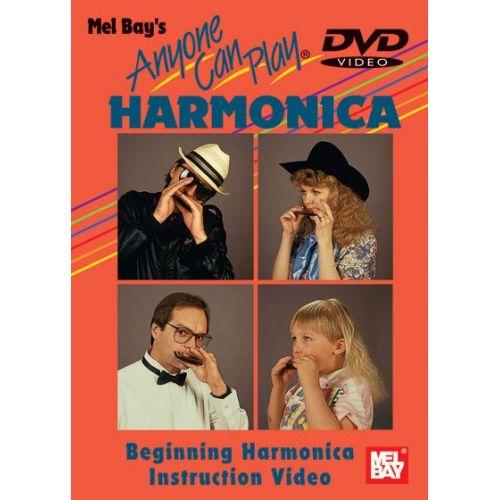 MEL BAY DUNCAN PHIL - ANYONE CAN PLAY HARMONICA - HARMONICA