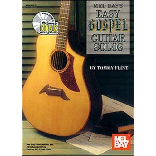 MEL BAY FLINT TOMMY - EASY GOSPEL GUITAR SOLOS + CD - GUITAR