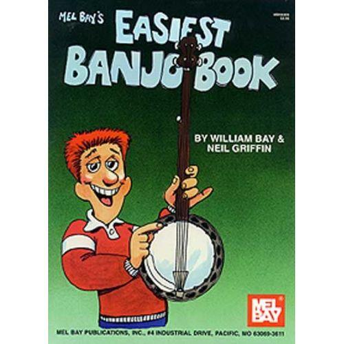 MEL BAY BAY WILLIAM - EASIEST BANJO BOOK - BANJO