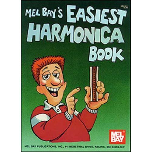 MEL BAY BAY WILLIAM - EASIEST HARMONICA BOOK - HARMONICA