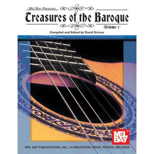 MEL BAY GRIMES DAVID - TREASURES OF THE BAROQUE VOLUME ONE - GUITAR
