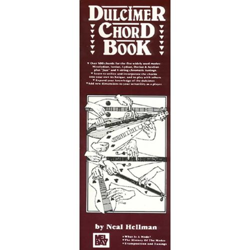 MEL BAY HELLMAN NEAL - DULCIMER CHORD BOOK - DULCIMER