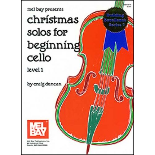 MEL BAY DUNCAN CRAIG - CHRISTMAS SOLOS FOR BEGINNING - CELLO