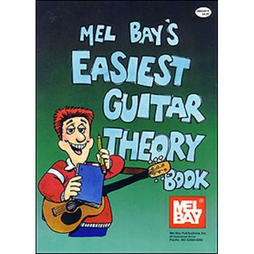 MEL BAY GOLDSMITH ROB - EASIEST GUITAR THEORY BOOK - GUITAR