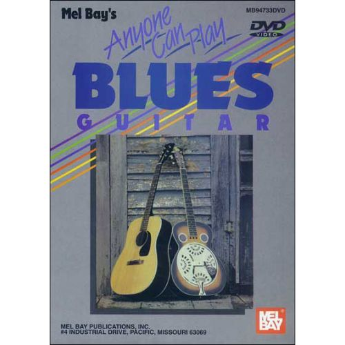 MEL BAY JURAN VERN - ANYONE CAN PLAY BLUES GUITAR - GUITAR