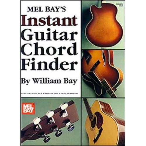MEL BAY BAY WILLIAM - INSTANT GUITAR CHORD FINDER - GUITAR
