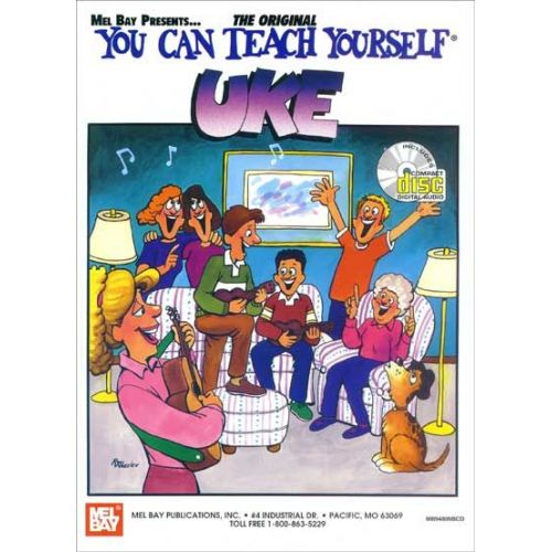 MEL BAY BAY WILLIAM - YOU CAN TEACH YOURSELF UKE + CD - UKULELE