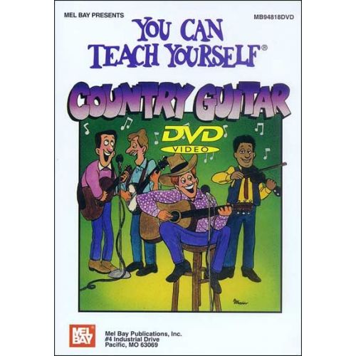 MEL BAY BRUCE DIX - YOU CAN TEACH YOURSELF COUNTRY GUITAR - GUITAR