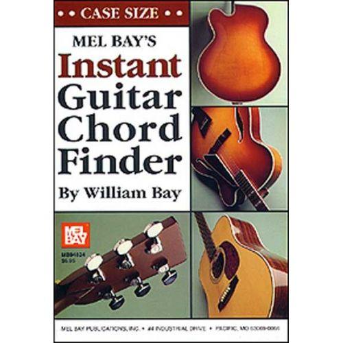 MEL BAY BAY WILLIAM - INSTANT GUITAR CHORD FINDER (CASE-SIZE EDITION) - GUITAR