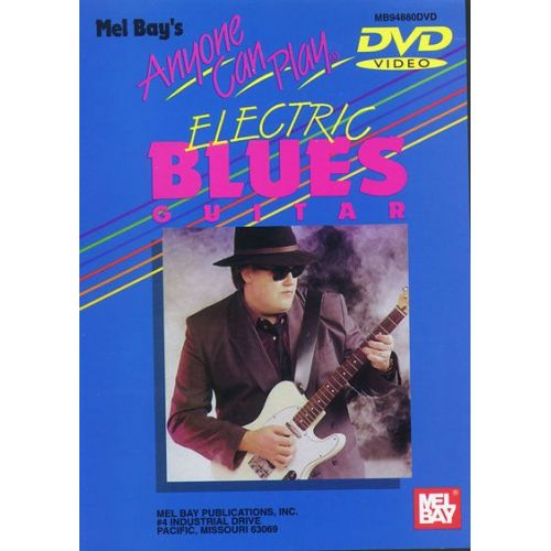 MEL BAY JURAN VERN - ANYONE CAN PLAY ELECTRIC BLUES GUITAR - GUITAR