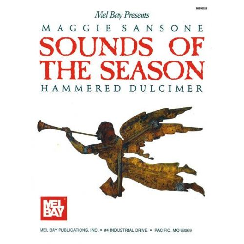 MEL BAY SANSONE MAGGIE - SOUNDS OF THE SEASON VOLUME 1 - DULCIMER