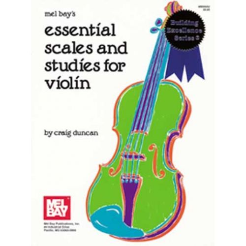 MEL BAY DUNCAN CRAIG - ESSENTIAL SCALES AND STUDIES FOR VIOLIN - VIOLIN