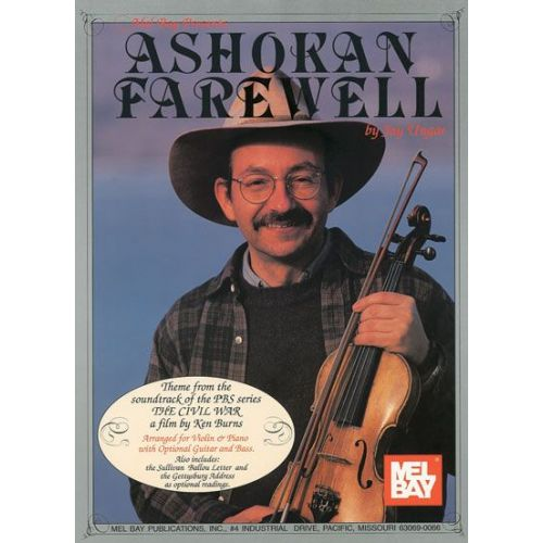 MEL BAY UNGAR JAY - ASHOKAN FAREWELL - FIDDLE AND VIOLIN