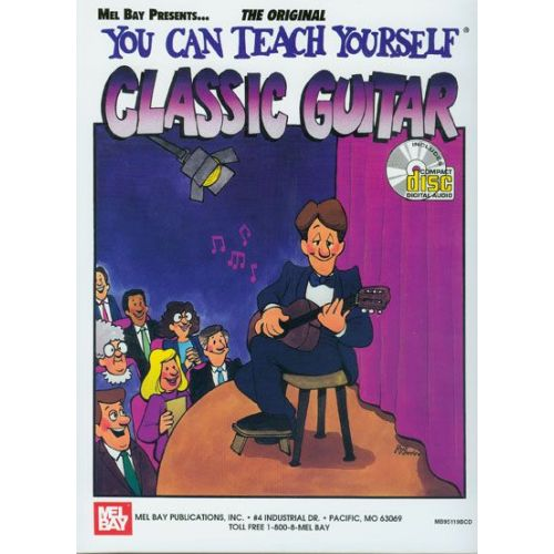 MEL BAY BAY WILLIAM - YOU CAN TEACH YOURSELF CLASSIC GUITAR + CD - GUITAR
