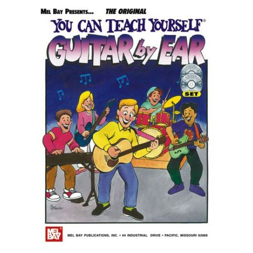 MEL BAY CHRISTIANSEN MIKE - YOU CAN TEACH YOURSELF GUITAR BY EAR + CD + DVD - GUITAR