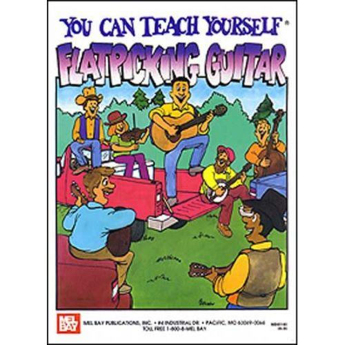 MEL BAY KAUFMAN STEVE - YOU CAN TEACH YOURSELF FLATPICKING GUITAR - GUITAR