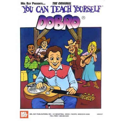 MEL BAY DAVIS JANET - YOU CAN TEACH YOURSELF DOBRO