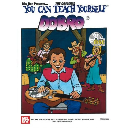 MEL BAY DAVIS JANET - YOU CAN TEACH YOURSELF DOBRO + CD