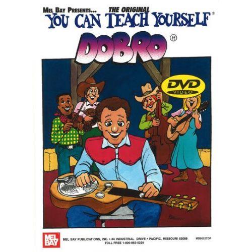 MEL BAY DAVIS JANET - YOU CAN TEACH YOURSELF DOBRO + DVD
