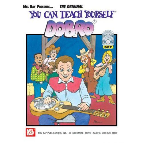 MEL BAY DAVIS JANET - YOU CAN TEACH YOURSELF DOBRO + CD + DVD