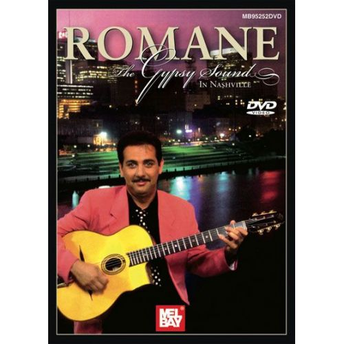 MEL BAY ROMANE - THE GYPSY SOUND DVD - GUITAR