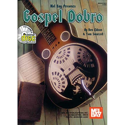 MEL BAY EIDSON KEN - GOSPEL DOBRO + CD - GUITAR