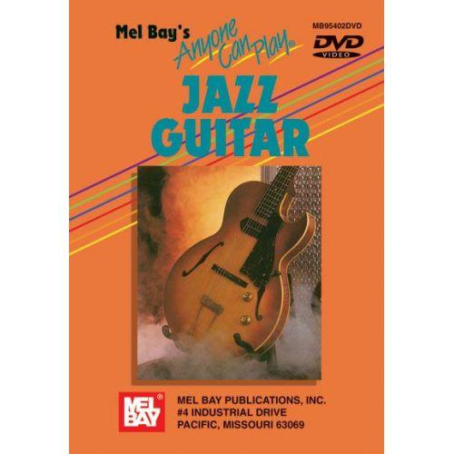 MEL BAY JURAN VERN - ANYONE CAN PLAY JAZZ GUITAR - GUITAR
