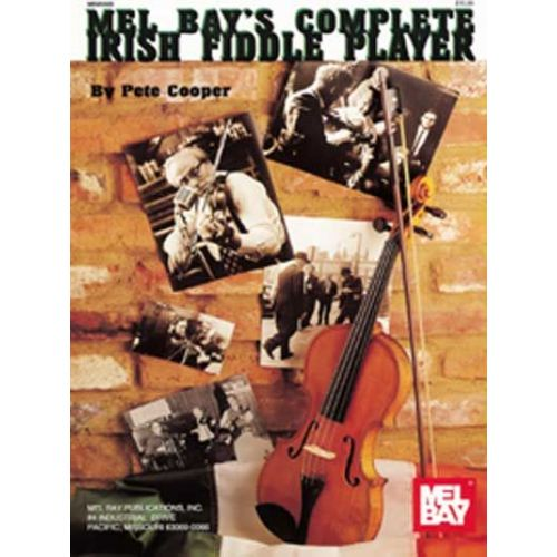 MEL BAY COOPER PETER - THE COMPLETE IRISH FIDDLE PLAYER - VIOLIN