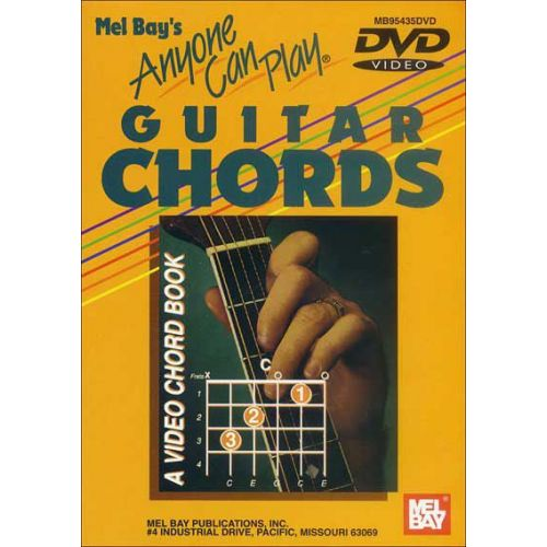 MEL BAY JURAN VERN - ANYONE CAN PLAY GUITAR CHORDS - GUITAR