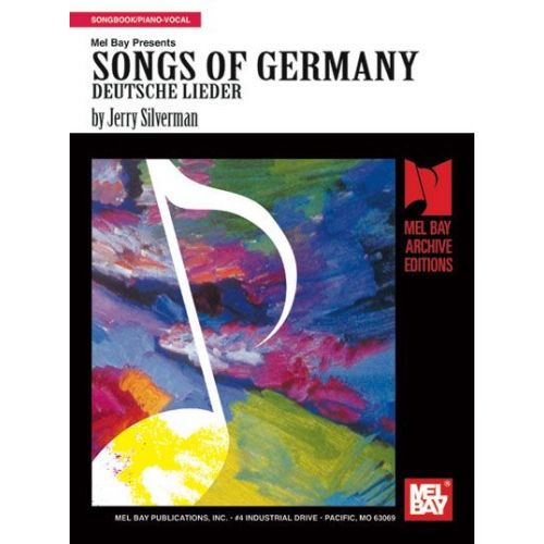 MEL BAY SILVERMAN JERRY - SONGS OF GERMANY - PIANO/VOCAL