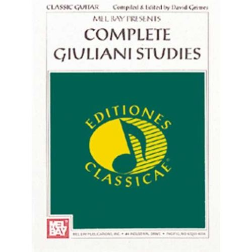 MEL BAY GRIMES DAVID - COMPLETE GIULIANI STUDIES - GUITAR