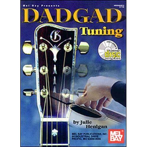 MEL BAY HENIGAN JULIE - DADGAD TUNING + CD - GUITAR