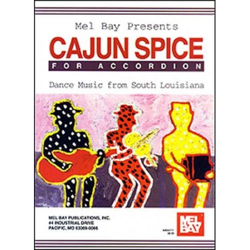 MEL BAY HALLAR LARRY - CAJUN SPICE FOR ACCORDION - ACCORDION