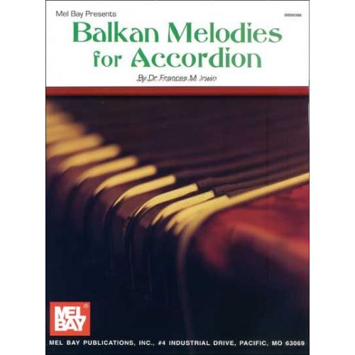 MEL BAY BALKAN MELODIES FOR ACCORDION - ACCORDION