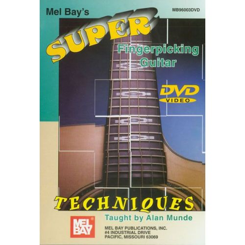 MEL BAY MUNDE ALAN - SUPER FINGERPICKING GUITAR TECHNIQUES - GUITAR
