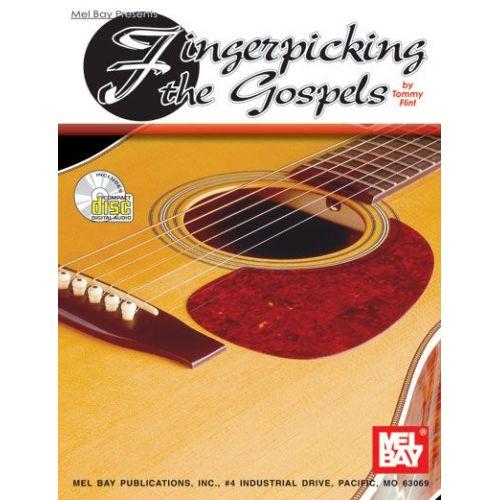 MEL BAY FLINT TOMMY - FINGERPICKING THE GOSPELS + CD - GUITAR