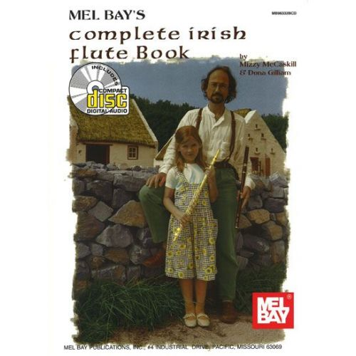 MEL BAY MCCASKILL MIZZY - COMPLETE IRISH FLUTE + CD - FLUTE