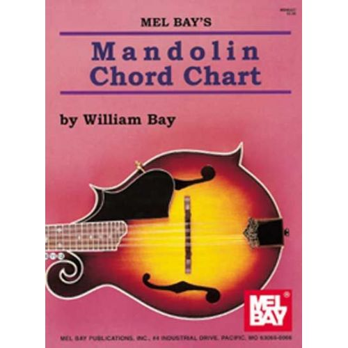 MEL BAY BAY WILLIAM - MANDOLIN CHORD CHART - MANDOLIN
